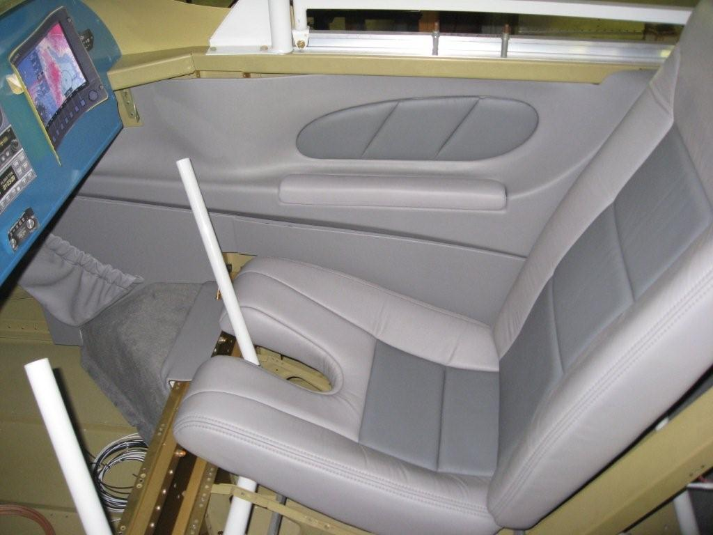 The Right Side Interior Loosely Installed To Get A Feel For How It Will  Look.