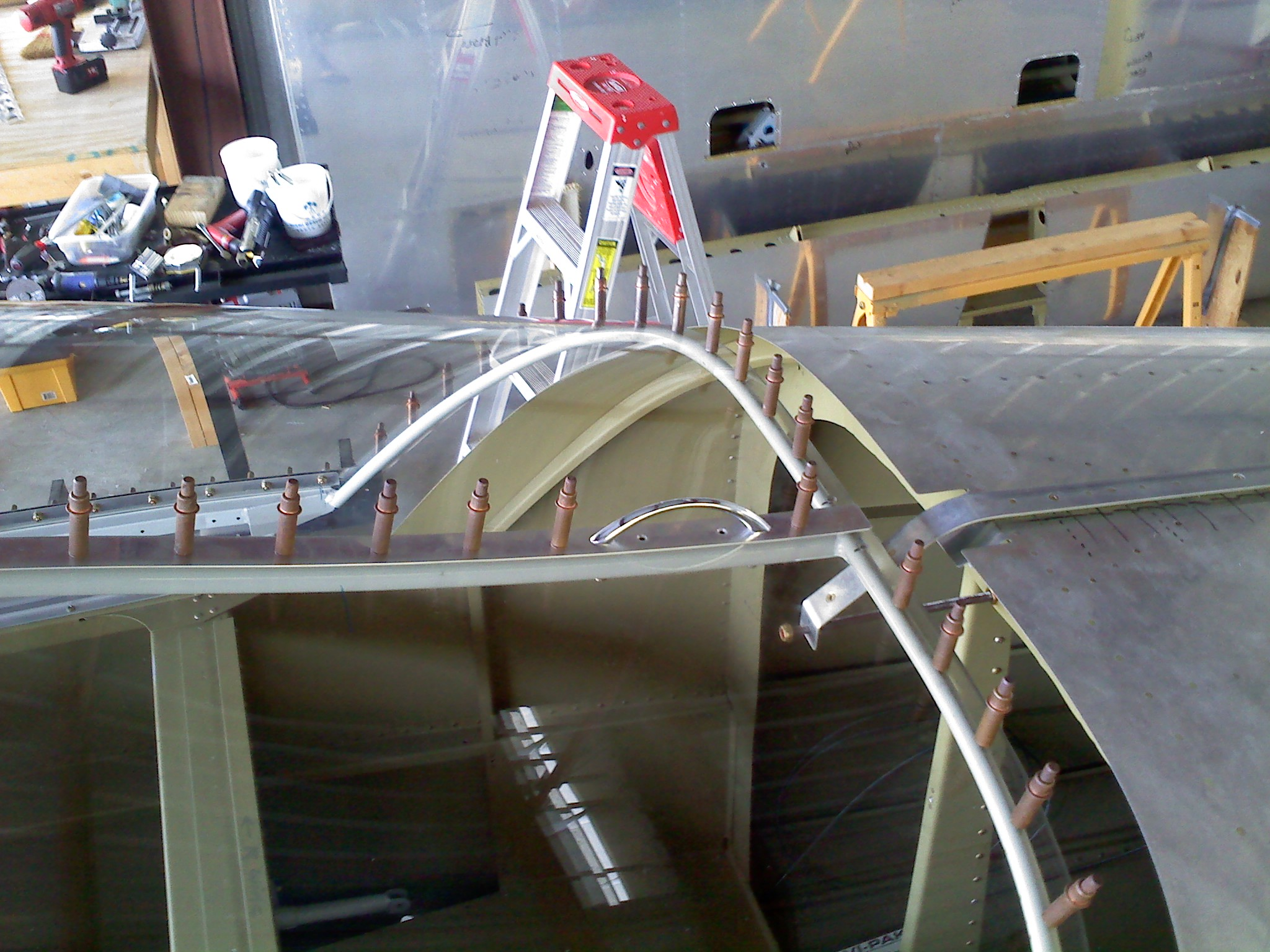 Handled installed on the aft dorsal of the slider canopy makes it easy to open. & Mike Hooveru0027s Vans RV9A Aircraft Construction Project